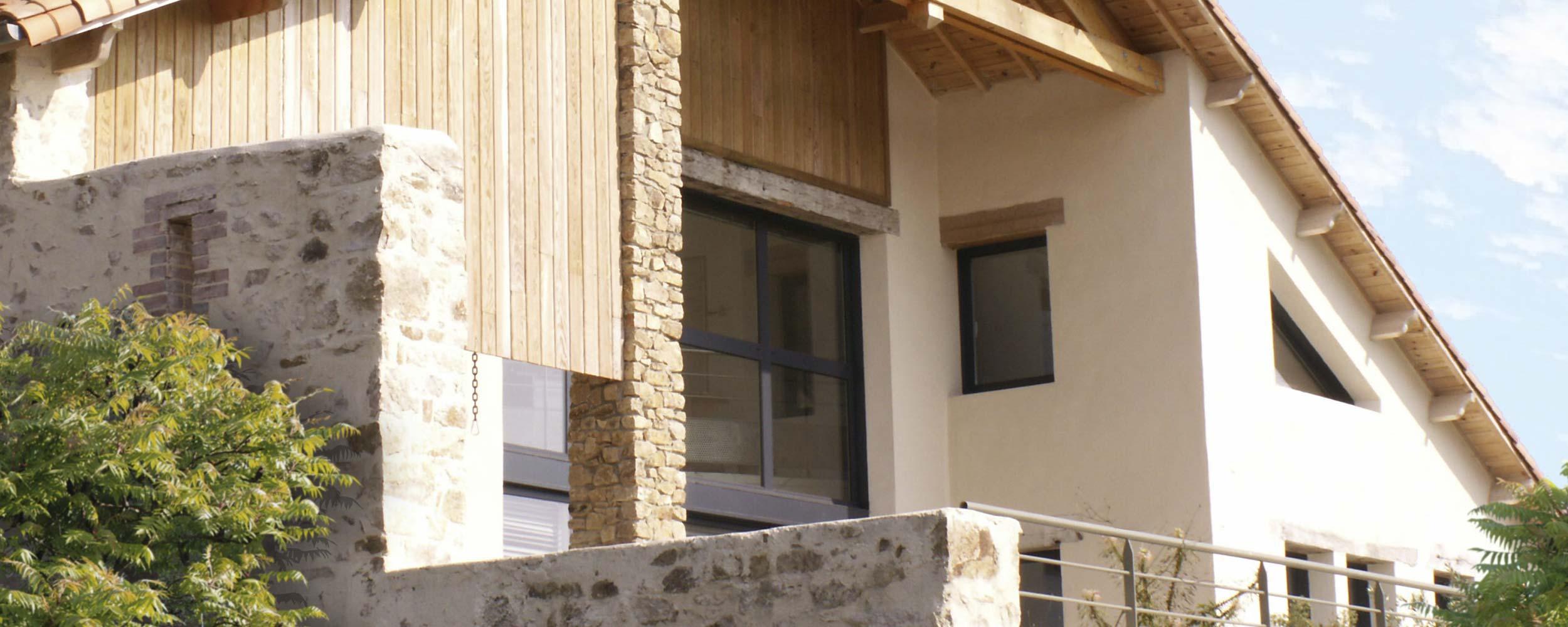 6 k jolie grange r novation 2 r novations extensions for Renovation grange